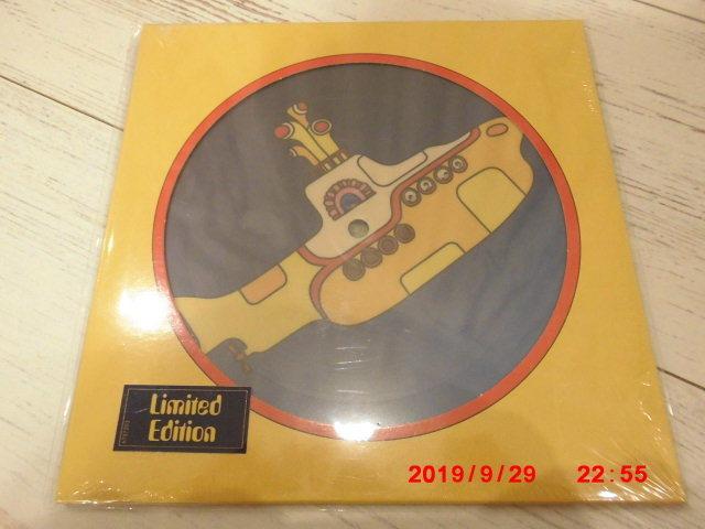 The Beatles/Yellow submarin 7'ピクチャーシングルレコード 新品 (ビートルズ)_画像1