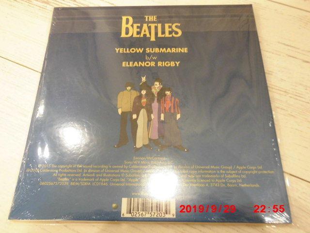 The Beatles/Yellow submarin 7'ピクチャーシングルレコード 新品 (ビートルズ)_画像2