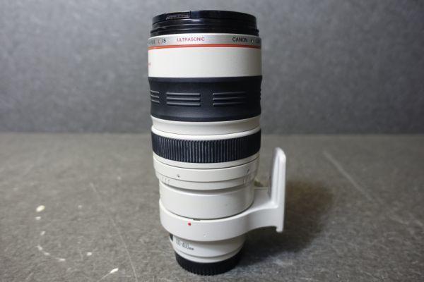 ジャンク品 CANON キャノン ULTRASONIC ウルトラソニック ズームレンズ EF φ77mm 100-400mm 1:4.5-5.6 IMAGE STABILIZER 望遠 AF G518_画像8