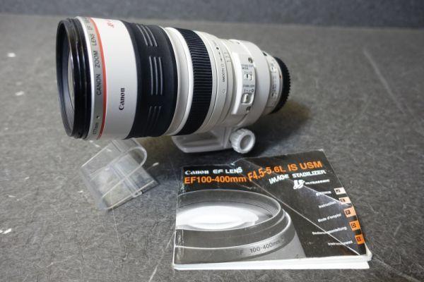 ジャンク品 CANON キャノン ULTRASONIC ウルトラソニック ズームレンズ EF φ77mm 100-400mm 1:4.5-5.6 IMAGE STABILIZER 望遠 AF G518