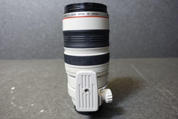 ジャンク品 CANON キャノン ULTRASONIC ウルトラソニック ズームレンズ EF φ77mm 100-400mm 1:4.5-5.6 IMAGE STABILIZER 望遠 AF G518_画像6