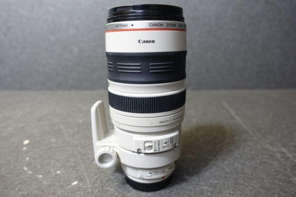 ジャンク品 CANON キャノン ULTRASONIC ウルトラソニック ズームレンズ EF φ77mm 100-400mm 1:4.5-5.6 IMAGE STABILIZER 望遠 AF G518_画像7