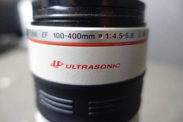 ジャンク品 CANON キャノン ULTRASONIC ウルトラソニック ズームレンズ EF φ77mm 100-400mm 1:4.5-5.6 IMAGE STABILIZER 望遠 AF G518_画像10