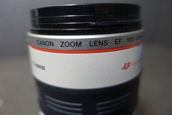 ジャンク品 CANON キャノン ULTRASONIC ウルトラソニック ズームレンズ EF φ77mm 100-400mm 1:4.5-5.6 IMAGE STABILIZER 望遠 AF G518_画像9