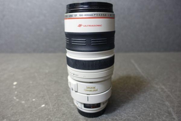 ジャンク品 CANON キャノン ULTRASONIC ウルトラソニック ズームレンズ EF φ77mm 100-400mm 1:4.5-5.6 IMAGE STABILIZER 望遠 AF G518_画像5