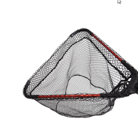 アルミ合金 80㎝ 格納式漁網伸縮式折りたたみためネット 磁極折りたたみランディングネット タモ k-1665_画像4