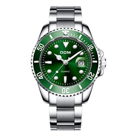 トップブランド DOM 高級メンズ腕時計 30m 防水日付時計男性スポーツ腕時計 男性用クォーツ腕時計レロジオ Masculino k-1429_画像3