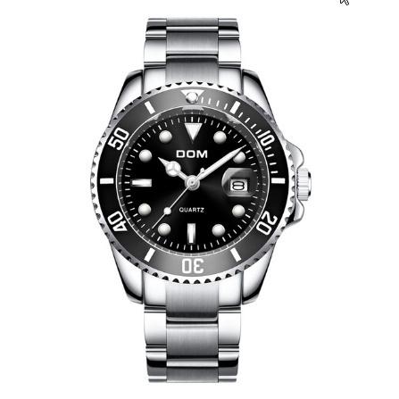 トップブランド DOM 高級メンズ腕時計 30m 防水日付時計男性スポーツ腕時計 男性用クォーツ腕時計レロジオ Masculino k-1429_画像8