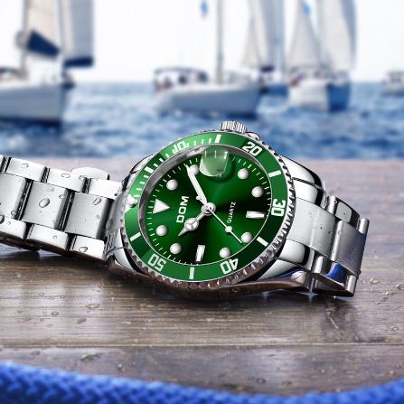 トップブランド DOM 高級メンズ腕時計 30m 防水日付時計男性スポーツ腕時計 男性用クォーツ腕時計レロジオ Masculino k-1429_画像5