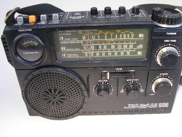 ☆ジャンク 三菱 JP-505 ジーカム BCLラジオ