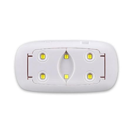 A333 ジェルネイル硬化UVライト ポータブルミニ USB ネイルポリッシュドライヤー【全2色・新品未使用】LEDランプ マウス型 ネイルアート_画像2