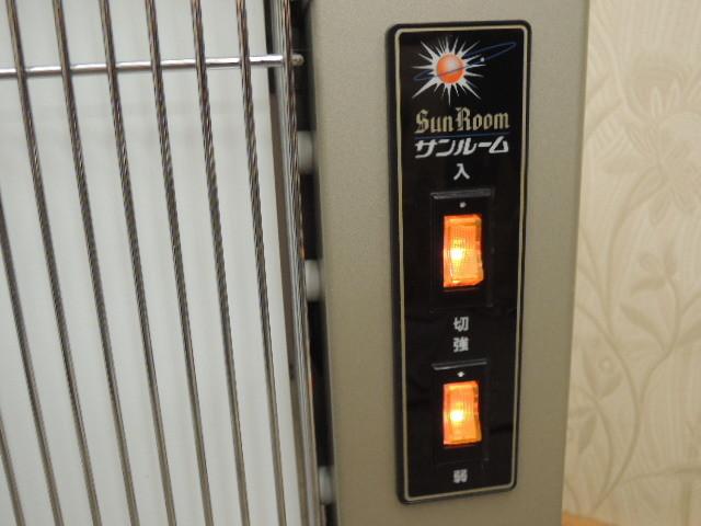 即決あり 美品 サンルーム 速暖GT パネルヒーター 遠赤外線暖房器 日本遠赤外線株式会社 暖房器具 ストーブ 電気ヒーター_画像9