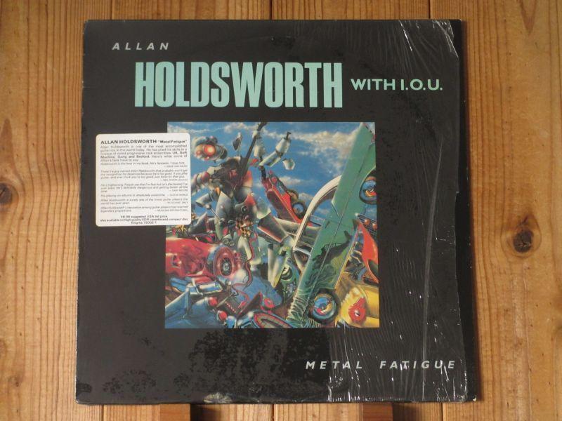 アランホールズワース / Allan Holdsworth With I.O.U. / Metal Fatigue / Enigma / 72002-1 / US盤 / オリジナル_画像1