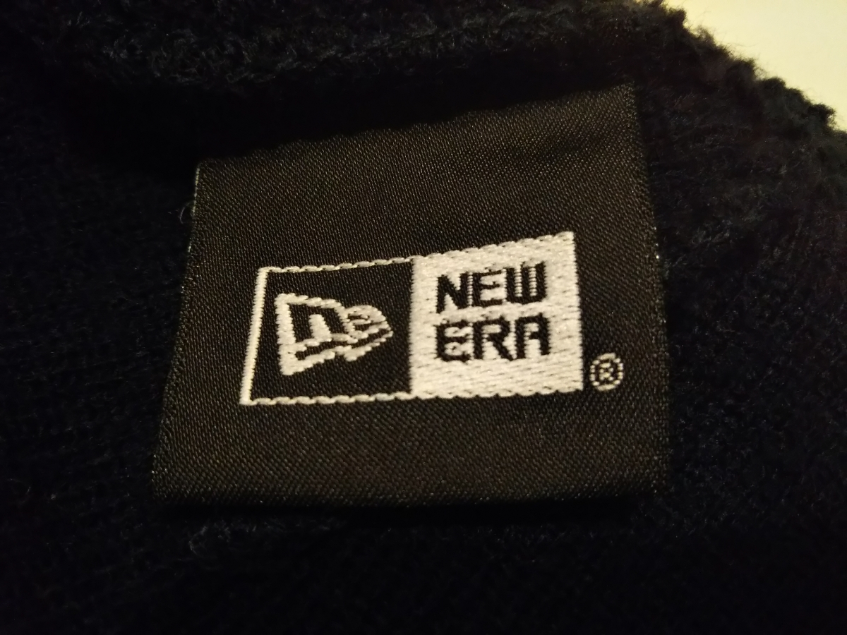 ★美品★ Supreme New Era box logo Beanie navy ネイビー 紺 ニット帽 ビーニー シュプリーム キャップ ボックスロゴ ニューエラ