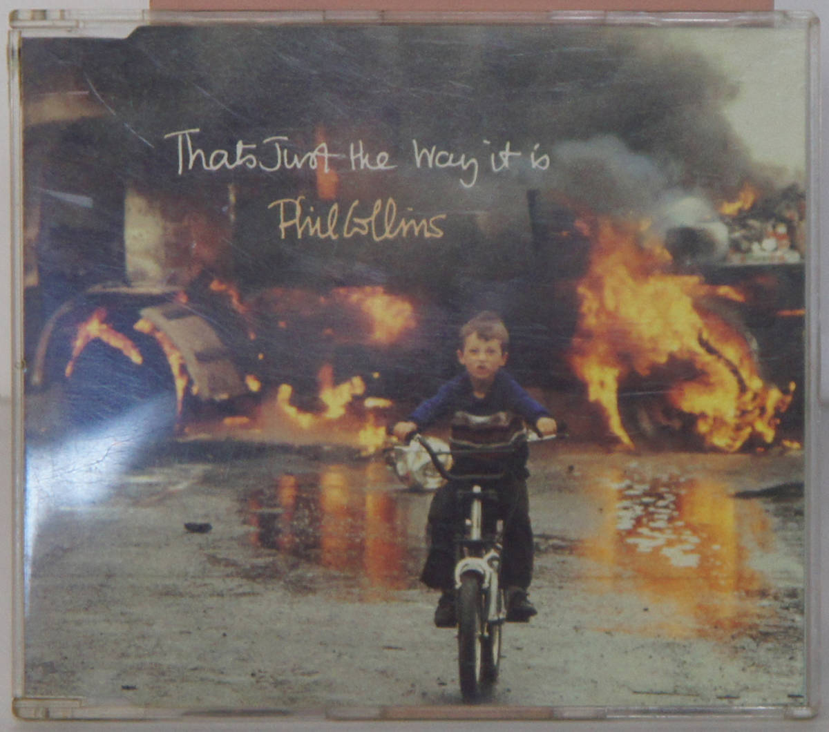 CD ● PHIL COLLINS / THAT'S JUST THE WAY IT IS ● 9031 71945-2 フィル・コリンズ 輸入盤 B963_画像1