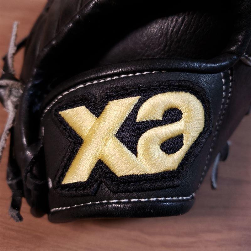 送料無料 ザナックス 阪神タイガース 藤川球児モデル 日本製 PROMODEL 良型 XANAX 中学生サイズ 少年XL 軟式用投手グラブ 野球 グローブ_画像9