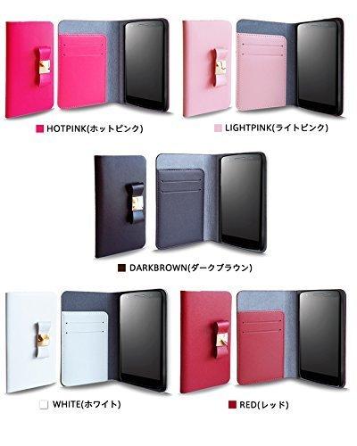 iPhone 7 Plus iphone plus JMEI 本革リボ ンフケース Rピンク M_画像3