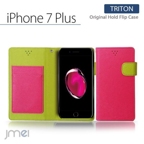 iPhone 7 Plus iphone 7 プラス JMEI ホールドケース Hピンク T_画像1