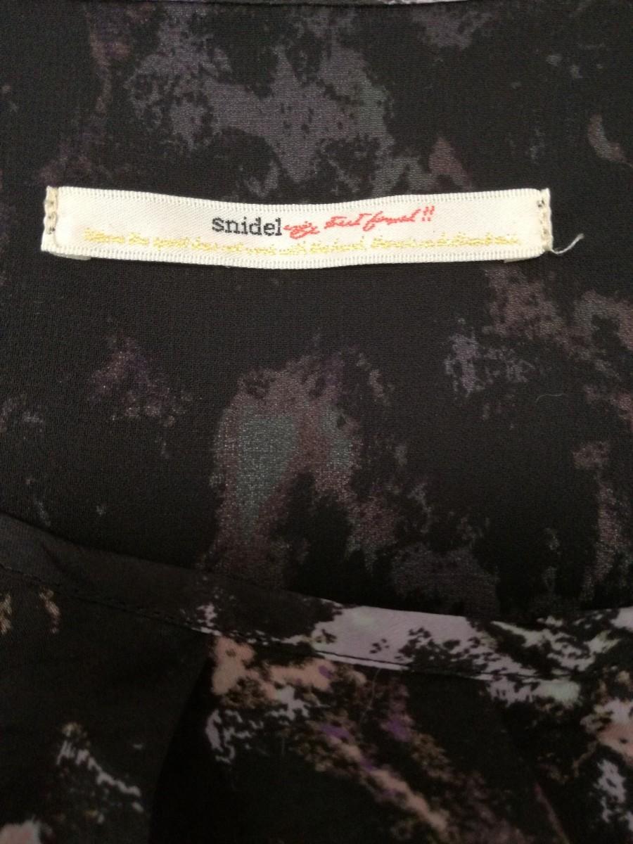Snidel スナイデル デザインワンピース