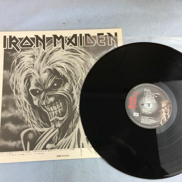 【日本初版】アイアン・メイデン/キラーズ【特大ポスター付き】Iron Maiden/Killers Japan 1st issue w/big poster_画像4