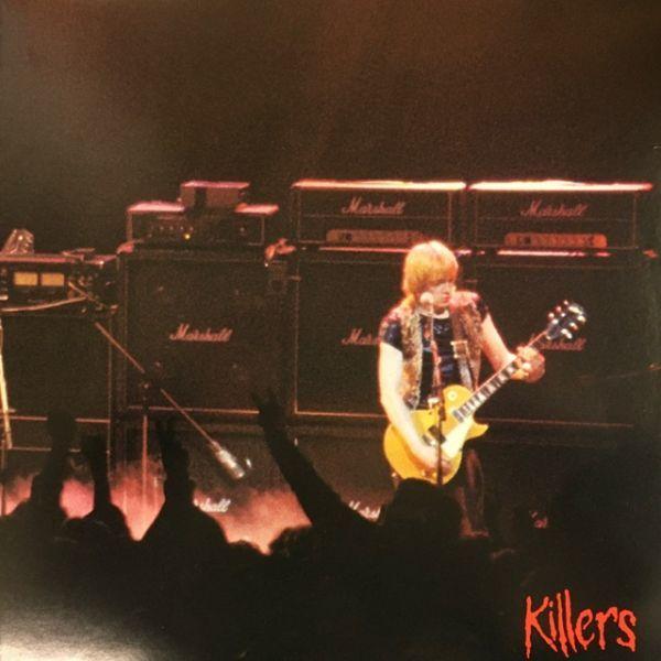 【日本初版】アイアン・メイデン/キラーズ【特大ポスター付き】Iron Maiden/Killers Japan 1st issue w/big poster_画像3