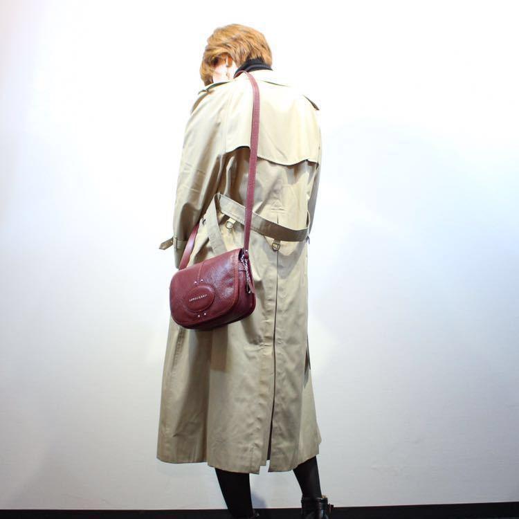 LONGCHAMP KUADORI LEATHER SHOULDER BAG MADE IN FRANCE/ロンシャンクアドリレザーショルダーバッグ_画像10