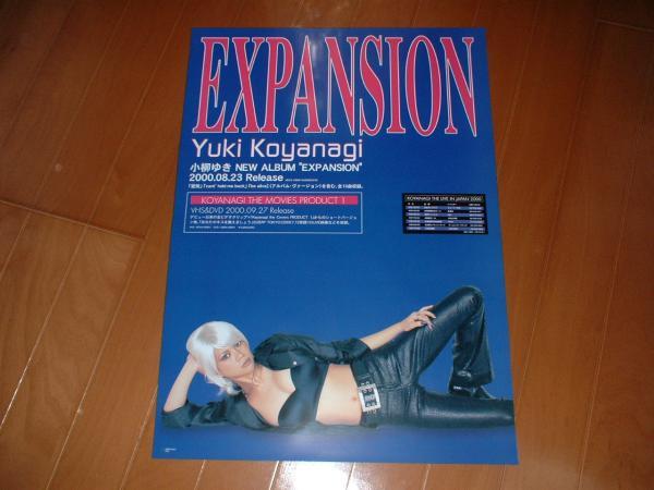 ポスター 小柳ゆき 「EXPANSION」美品