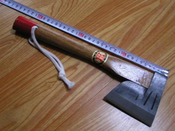 仮枠ヨキ おの 斧 鉈 【割込鋼】 薪割り 新品未使用