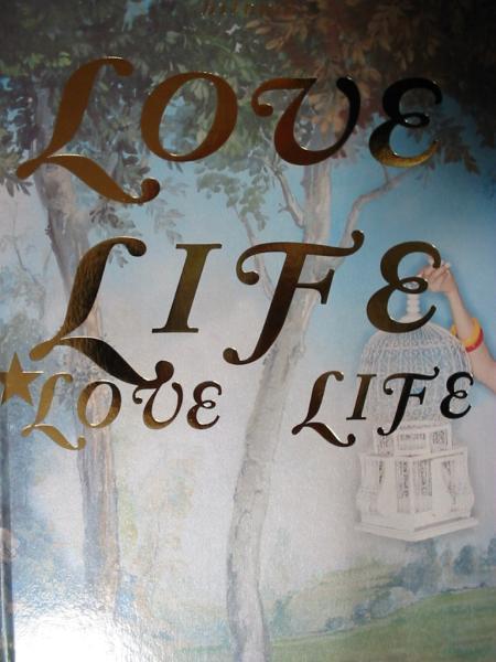 パンフレット【「Love Life」2001コンサートツアー】hitomi