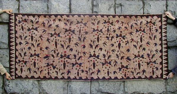 インドネシア・マドゥラ島のバティック古布復刻版(Ramok)