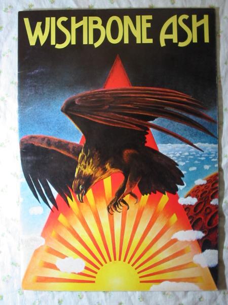 1975年 パンフ wish bone ash【ロックエクスプロージョン 75】