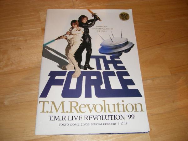 即決!TMRevolution LIVE ツアーパンフ THE FORCE