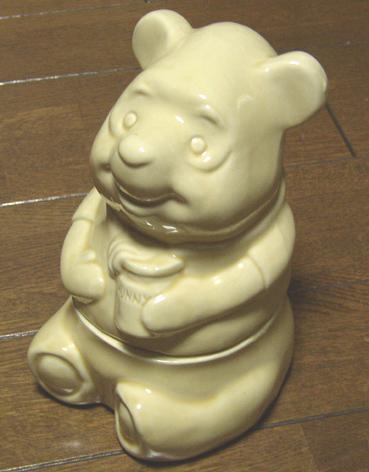 英国購入 POOH 陶器/プーさん/BAMBI/ピグレット/バンビ/レトロ/ディズニー/テディーベア ディズニーグッズの画像
