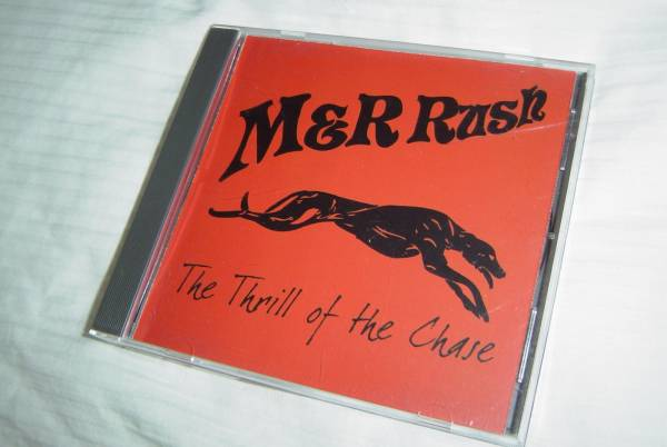 M&R RUSH 「THE THRILL OF THE CHASE」 サイト限定盤 メロディアス・ハード系名盤_画像1