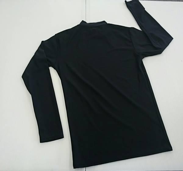 【良品!】♪SPALDING♪ 長袖インナーシャツ 黒 O
