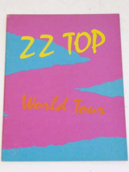 Z Z TOP World Tour 1981/ヴィンテージ ツアーパンフ