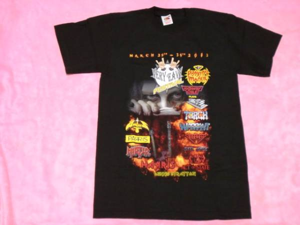 NWOBHM Tシャツ S ロックT バンドT Torch Helloise Praying Mantis ツアーT