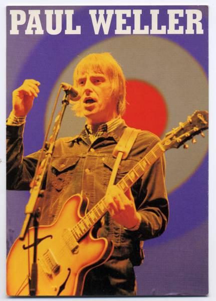 当時物 ★ Paul Weller ポストカ-ド THE Jam ★ デットストック!!