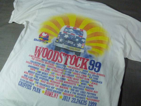 ウッドストック99 Tシャツ(WOODSTOCK99)