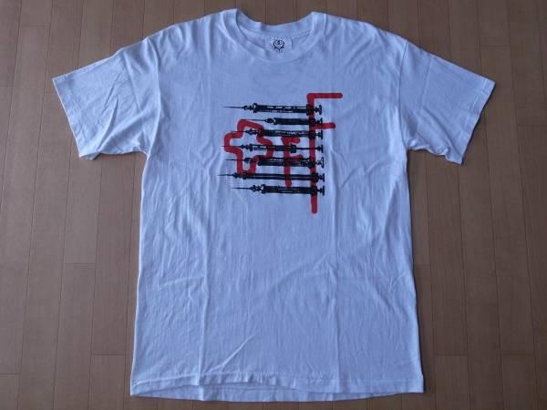 90's 藤井フミヤ FUMIYART Tシャツ M~L位 白 Fumiya Fujii フミヤート THE CHECKERS チェッカーズF-BLOOD エフブラッド 芸術 ART 現代美術