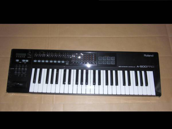 Roland A-500 PRO 極上美品! 49鍵盤! 高級機種! MIDI KEYBOARD キーボード コントローラー DTM ローランド シンセサイザー SYNTHESIZER_画像1