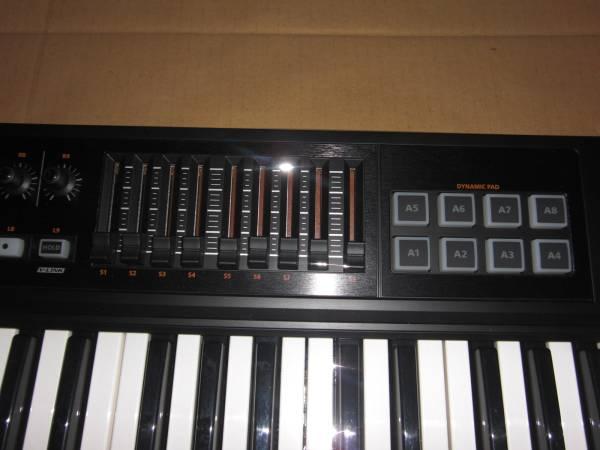Roland A-500 PRO 極上美品! 49鍵盤! 高級機種! MIDI KEYBOARD キーボード コントローラー DTM ローランド シンセサイザー SYNTHESIZER_画像3