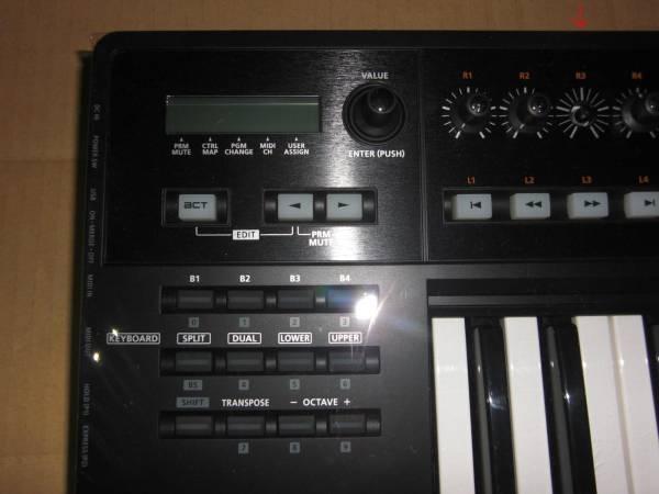 Roland A-500 PRO 極上美品! 49鍵盤! 高級機種! MIDI KEYBOARD キーボード コントローラー DTM ローランド シンセサイザー SYNTHESIZER_画像2
