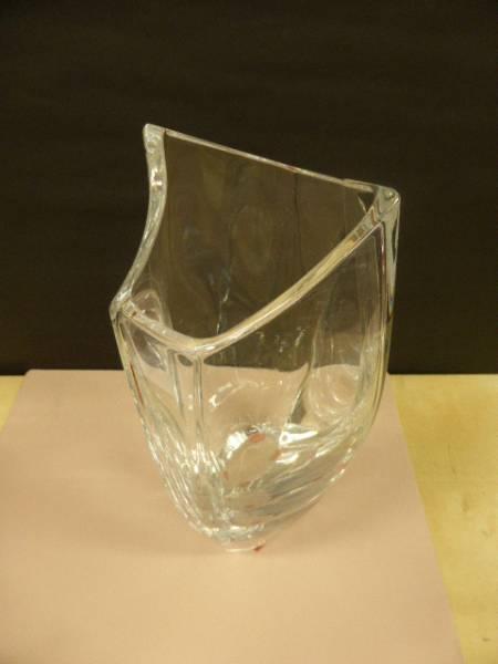 バカラ クリスタル Baccarat  クリスタルガラス  花瓶  フラワーベース  ジベルニー ベース  花瓶  L  品番:1792-548_画像3