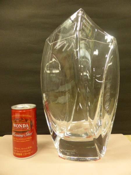 バカラ クリスタル Baccarat  クリスタルガラス  花瓶  フラワーベース  ジベルニー ベース  花瓶  L  品番:1792-548_画像1