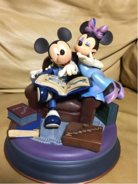 ディズニー 小物入れ ミッキー ミニー 貴重 markrita 75周年 ディズニーグッズの画像