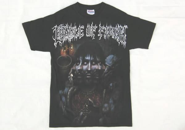 値下げ!! CRADLE OF FILTH古着Tシャツ バンドT 黒 S