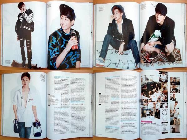 [BTS 防弾少年団]韓国雑誌切り抜き12p./2014年10月号_画像3