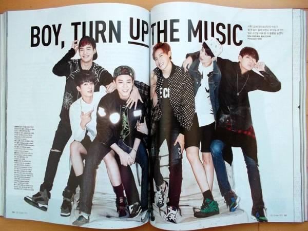 [BTS 防弾少年団]韓国雑誌切り抜き12p./2014年10月号