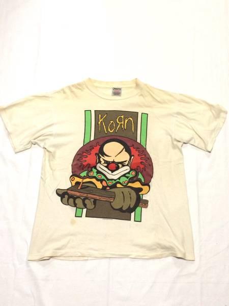 激レア 96年 KORN コーン オフィシャル Tシャツ ピエロ slipknot